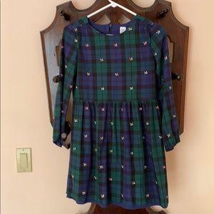 Sarah Jessica Parker for Gap plaid dress